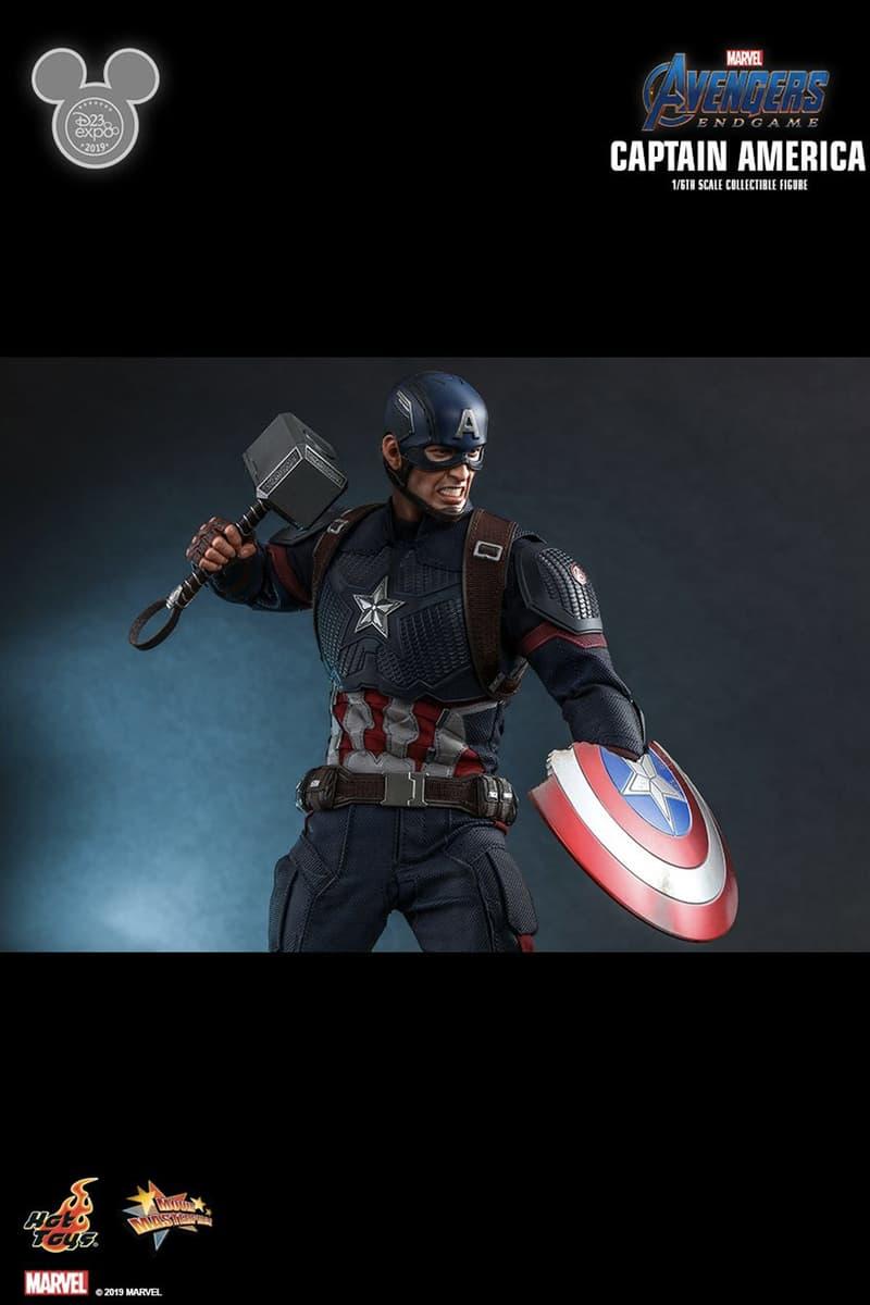 Hot Toys 推出 1:6《Avengers:Endgame》Captain America「雙武器」珍藏人偶