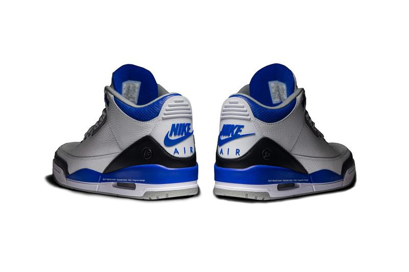GOAT 獨家近賞 fragment design x Air Jordan 3 樣品鞋款
