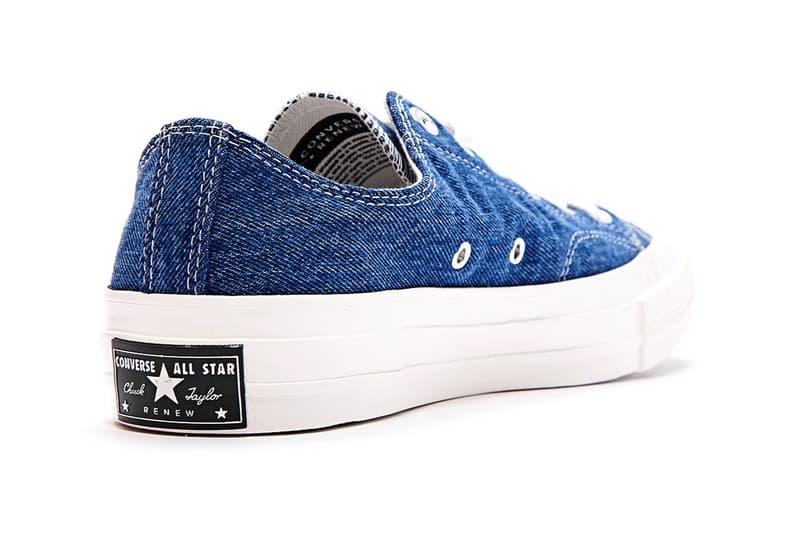 Converse 推出極簡洗水丹寧版本 Chuck 70 鞋款
