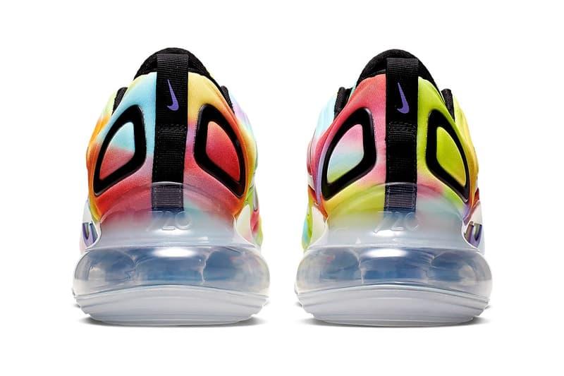 Nike Air Max 720 全新配色「Tie-Dye」發佈