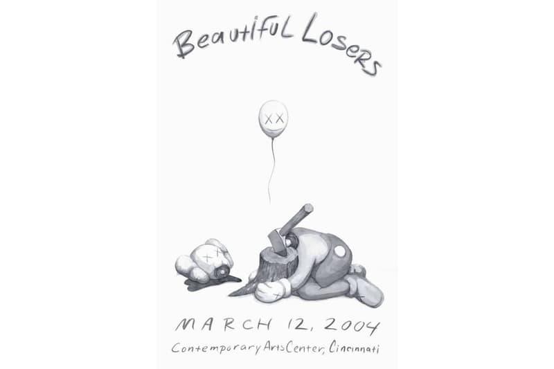 KAWS 極罕作品《Beautiful Losers》於 Jonathan LeVine Project 登場