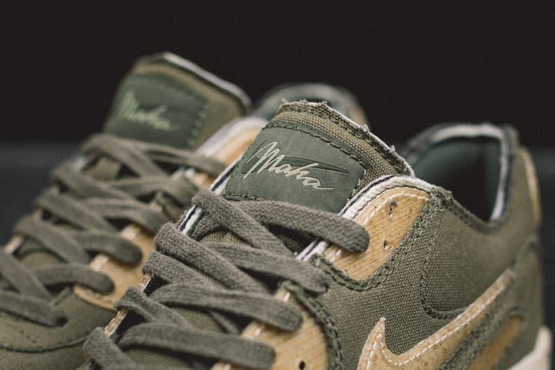 maharishi 打造 Nike Air Max 90 全新「maha Olive」定製版本