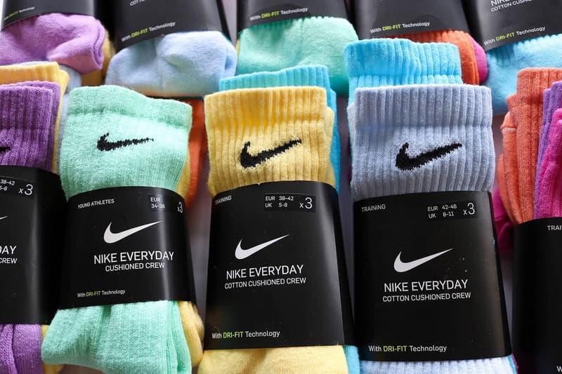 親力親為-OWAISHSB 推出自家染製 Nike DRI-FIT 長襪