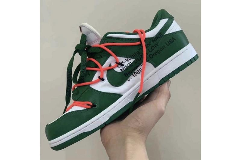 Off-White™ x Futura x Nike SB Dunk Low 最新聯乘配色實鞋曝光