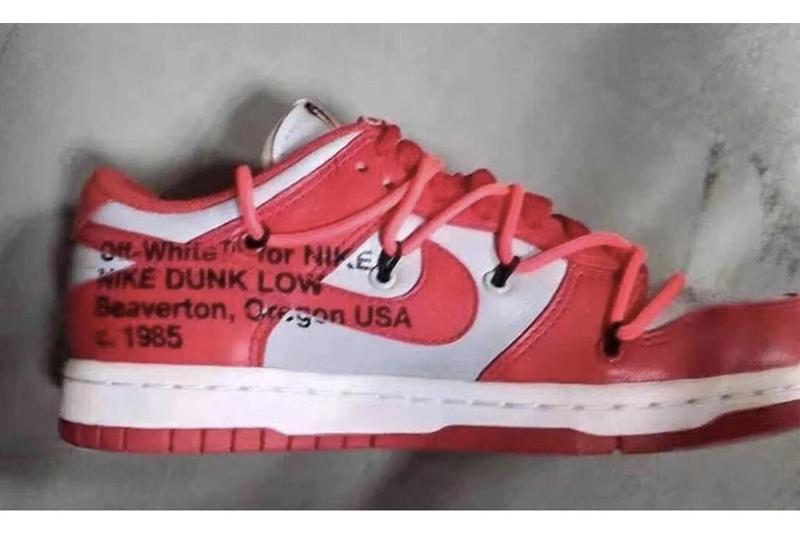 Off-White™ x Nike SB Dunk Low 最新配色「University Red」搶先曝光
