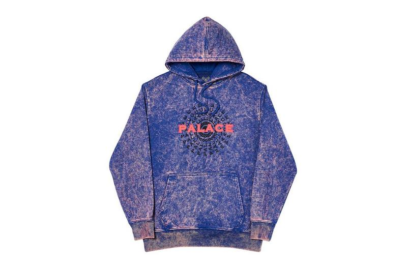 Palace 正式發佈 2019 秋季衛衣系列