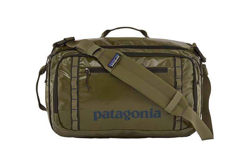 環境保育行動— Patagonia「Black Hole」系列包款採用 100% 回收材料製成