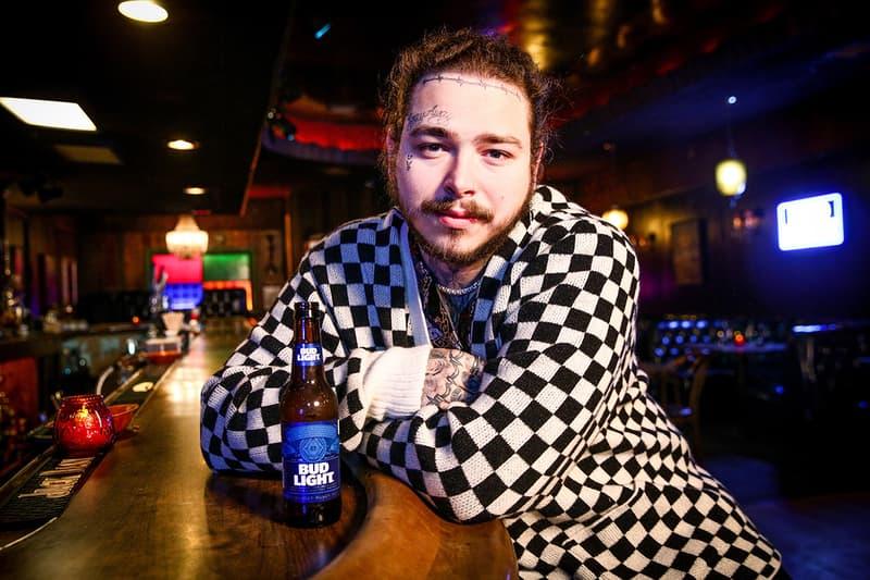 Post Malone 將推出 Bud Light 啤酒主題系列商品