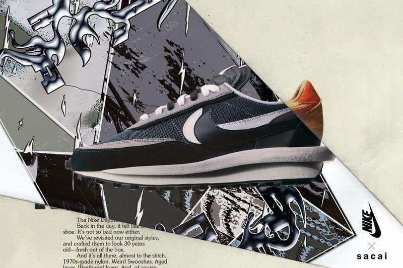 sacai x Nike LDWaffle 聯乘二回目三配色再次延期發售