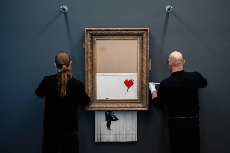 競拍雙雄— Sotheby's 與 Christie's 拍賣行將拍售多件 Banksy 畫作
