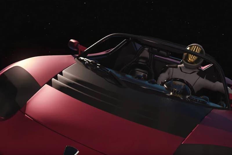 電動車上太空— Tesla Roadster 已正式環繞太陽一周目