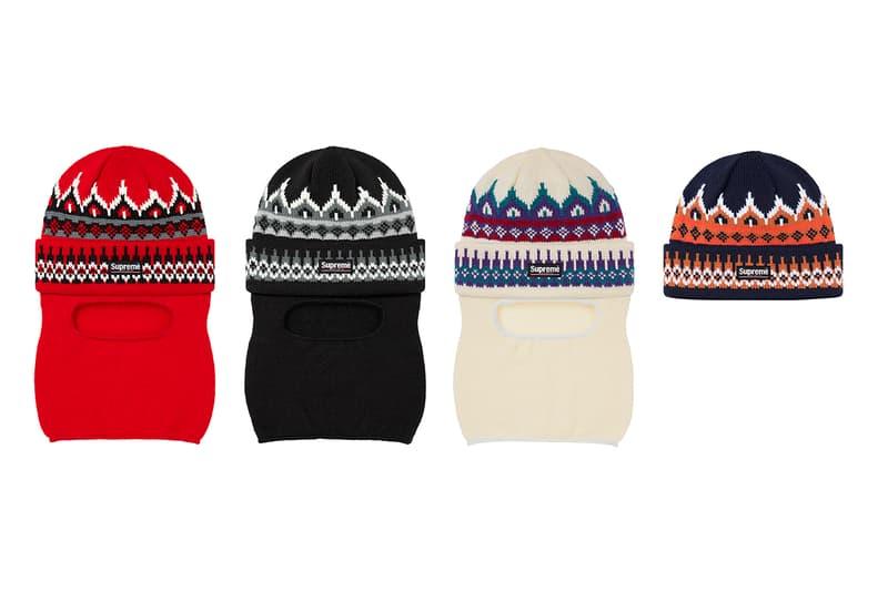 Supreme 正式發佈 2019 秋冬帽款系列
