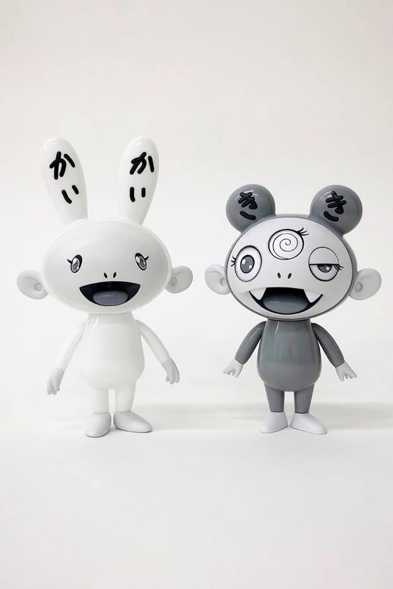 村上隆搶先曝光「黑白色調」Kaikai & Kiki 極罕公仔
