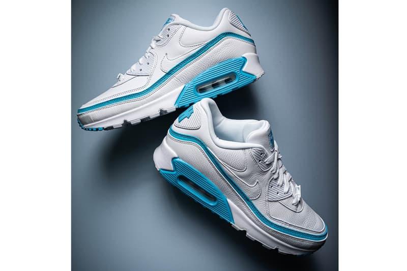 UNDEFEATED x Nike Air Max 90 最新聯乘鞋款搶先曝光