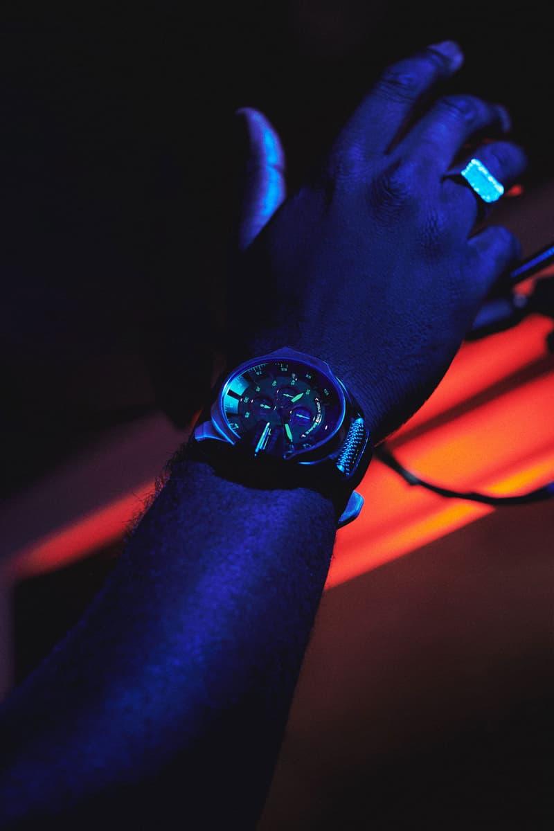 从 90 年代 Rave 文化中提取灵感,Diesel 发布全新 Mega Chief 腕表