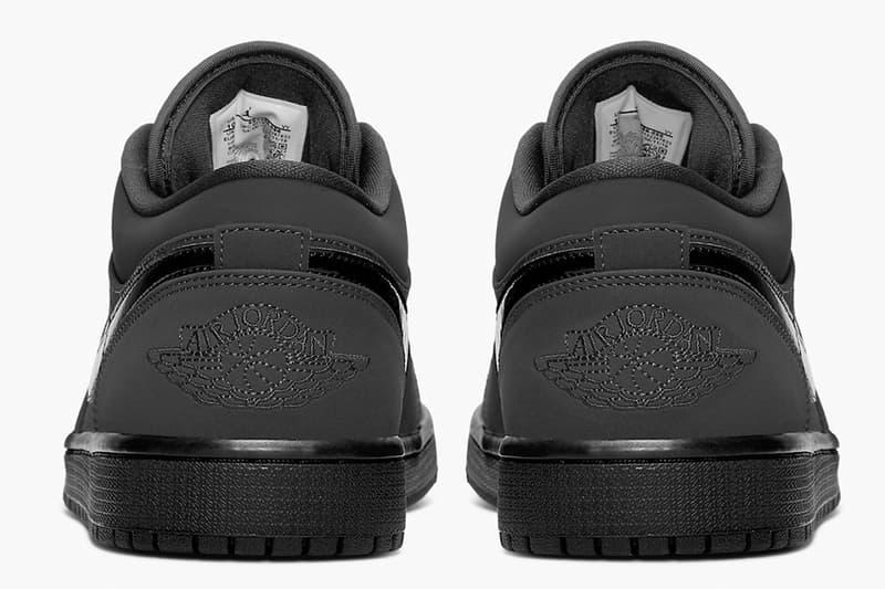 Air Jordan 1 Low 推出全新黑魂「Triple Black」配色