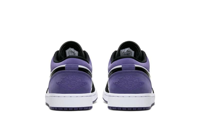 Air Jordan 1 Low 推出全新紫調配色