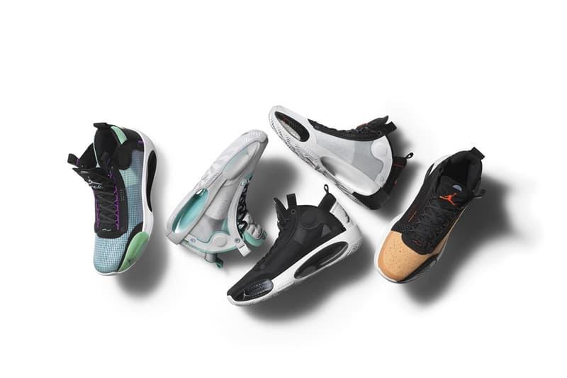 Jordan Brand 發佈最新籃球鞋 Air Jordan XXXIV 全新配色系列