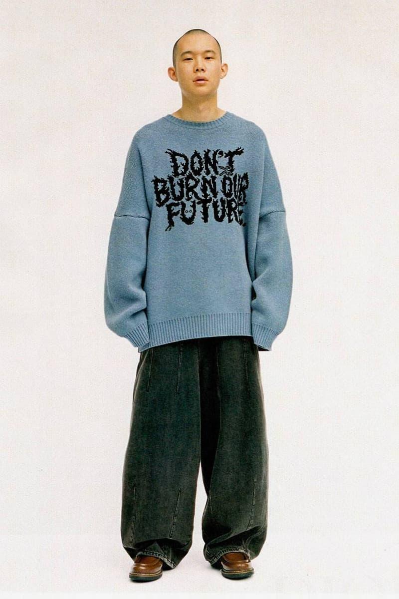 AJOBYAJO 發佈《DON'T BURN OUR FUTURE》2019 秋冬系列型錄