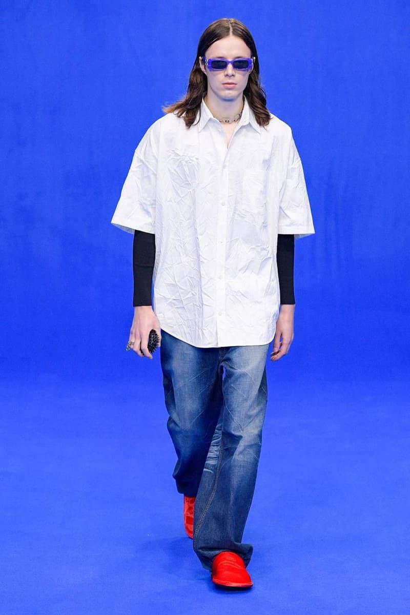 Balenciaga 2020 年春夏系列時裝秀