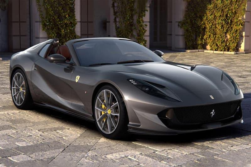 Ferrari 搭載 V12 引擎之全新敞篷車型 812 GTS 登場
