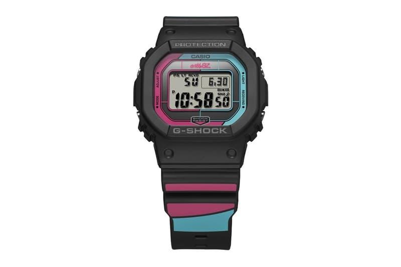 Gorillaz x G-SHOCK 全新聯乘系列腕錶發佈