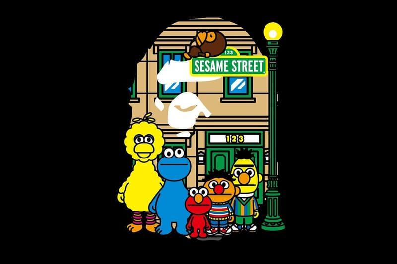 A BATHING APE® 釋出《Sesame Street》聯乘新作