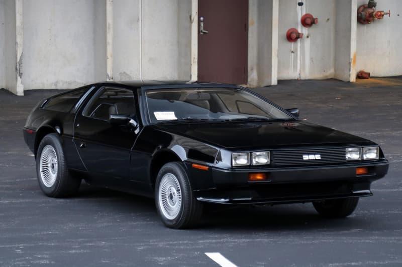 罕見 1981 年經典車款DeLorean DMC-12 於拍賣會中正式賣出