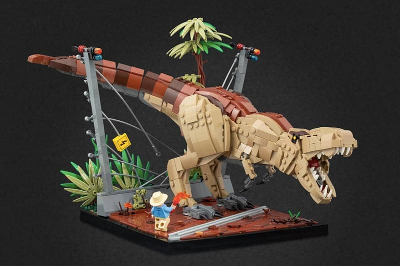 Jonas Kramm 以 LEGO 打造 18 個《Jurassic Park》經典場景