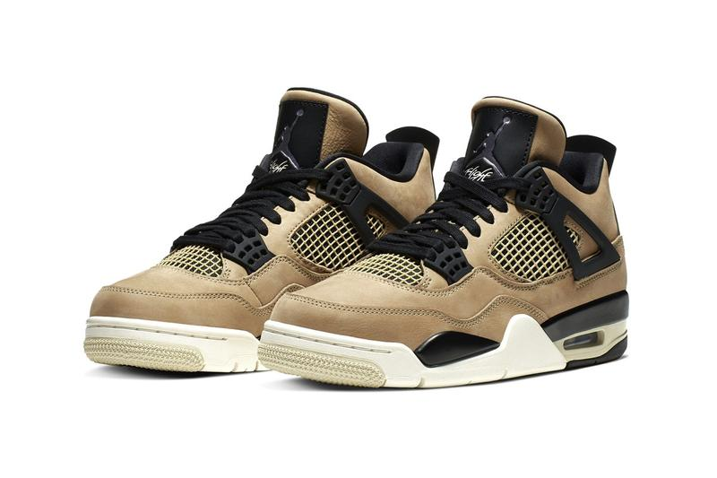 Air Jordan 4 全新「Fossil」大地配色鞋款即將發佈