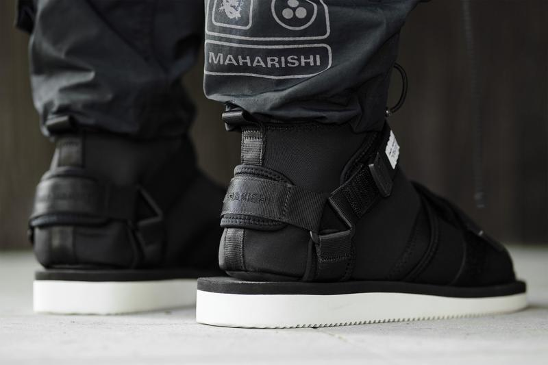 maharishi x Suicoke 攜手打造別注忍者鞋款