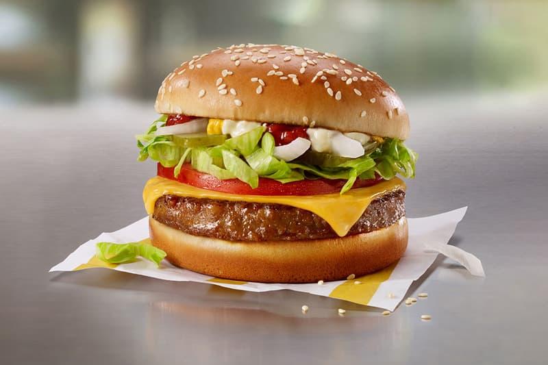 McDonald 攜手人造肉品牌 Beyond Meat 推出素食肉餅漢堡