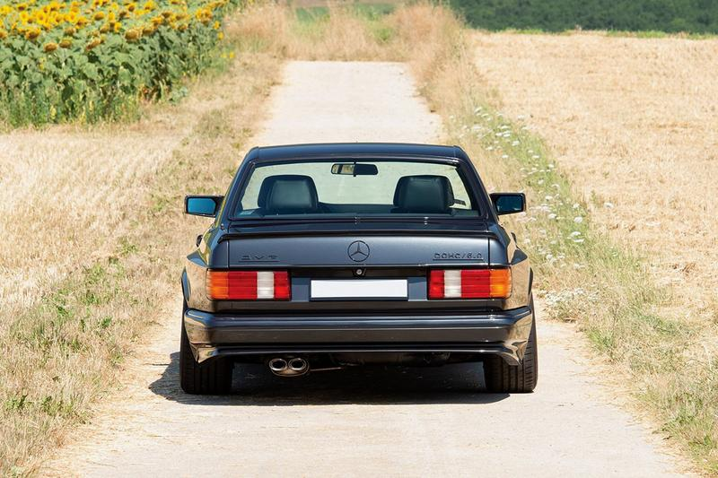 極罕 1991 年 Mercedes-Benz 560 SEC AMG 6.0 即將展開拍賣