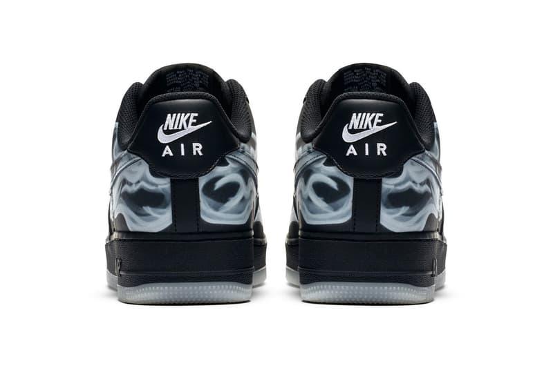 率先預覽 Nike Air Force 1 萬聖節別注配色「Black Skeleton」官方圖輯