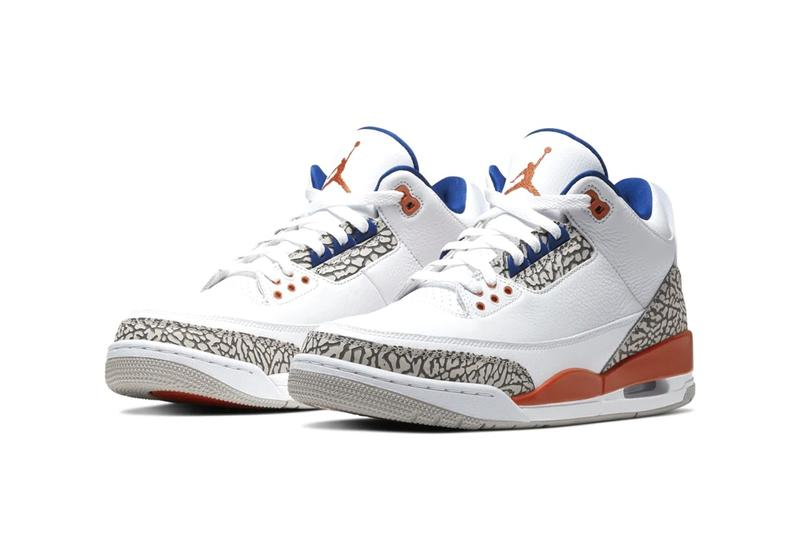 Air Jordan 3 全新配色「New York Knicks」發佈