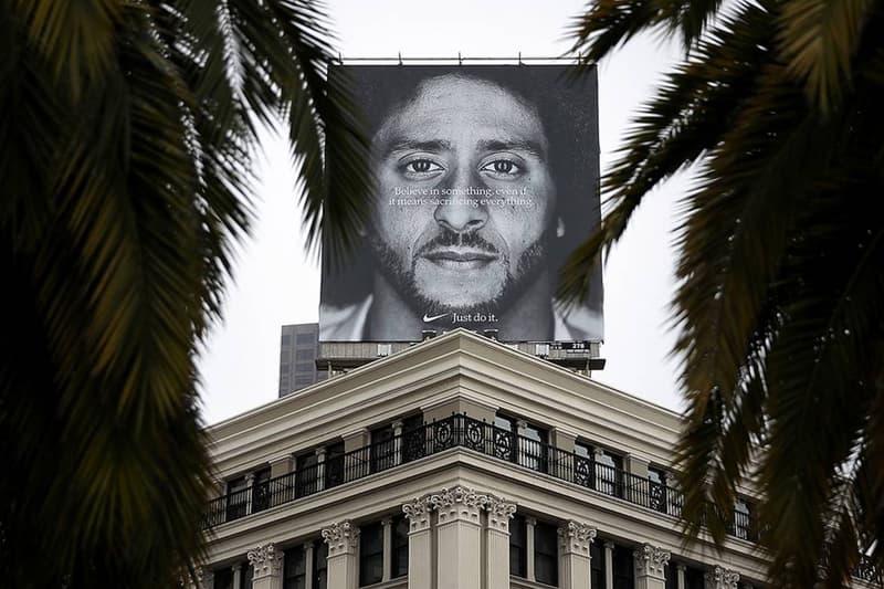 Nike 引起 Donald Trump 批評的「Colin Kaepernick」廣告對品牌並無顯著影響