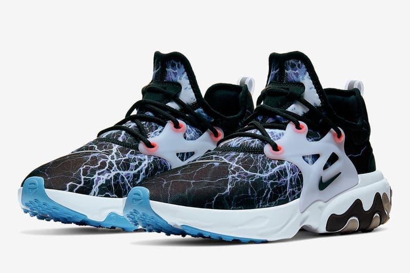 Nike 移植經典「Lightning」配色推出 Presto React 鞋款