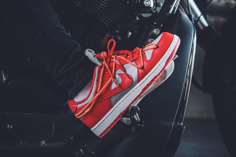 率先近賞 Off-White™ x Nike SB Dunk Low「University Red」上腳圖輯