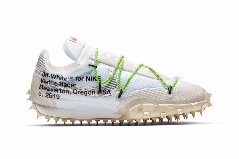 Off-White™ x Nike Waffle Racer SP 聯乘鞋款傳出延期發售