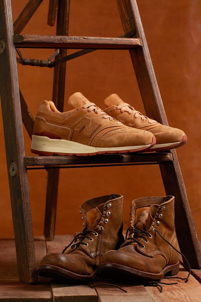 New Balance 997 x Red Wing 聯乘鞋款發佈