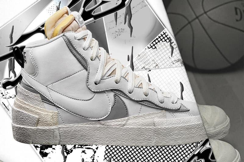 sacai x Nike Blazer 最新秋季聯乘系列發售日期率先曝光