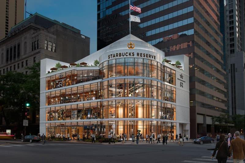 全球最大家 Starbucks 即將於美國芝加哥正式開幕