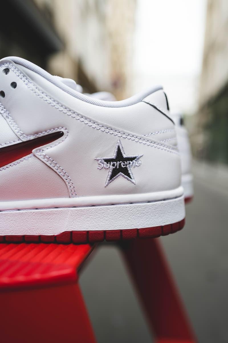 HYPEBEAST 獨家近賞 Supreme x Nike SB Dunk Low 聯乘系列鞋款