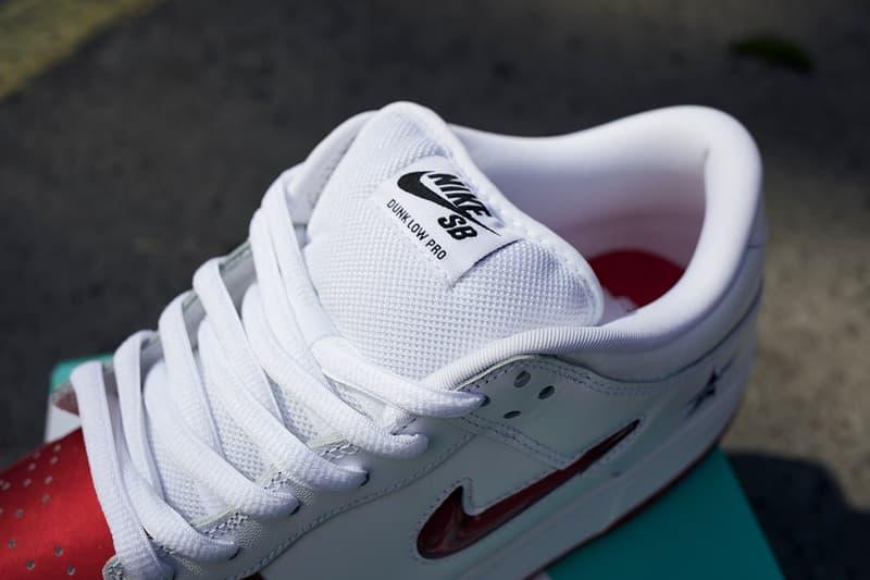 HYPEBEAST 獨家近賞 Supreme x Nike SB Dunk Low 聯乘系列三色鞋款