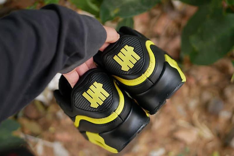 搶先預覽 UNDEFEATED x Nike Air Max 90 全新配色「Optic Yellow」鞋款