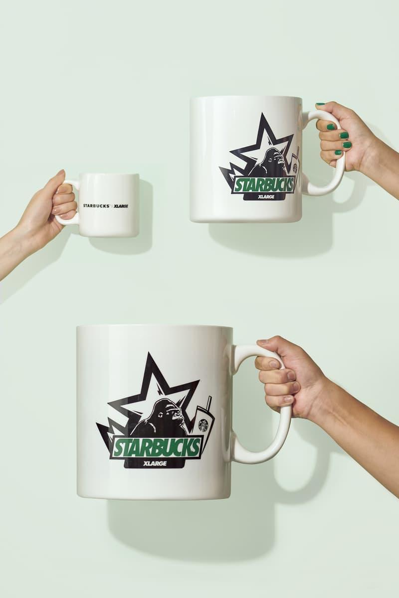 XLARGE 與 Starbucks 推出聯名別注系列