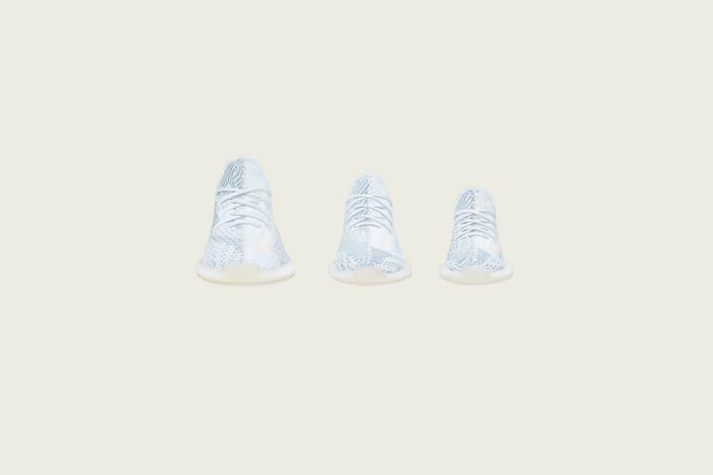 YEEZY BOOST 350 V2「Cloud White」正式發佈