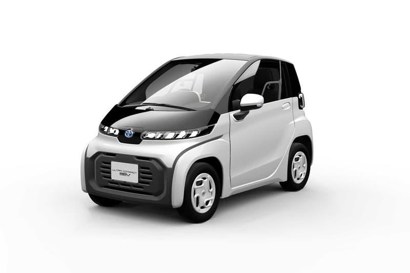 TOYOTA 即將發佈全新微型電動車 Ultra-Compact BEV