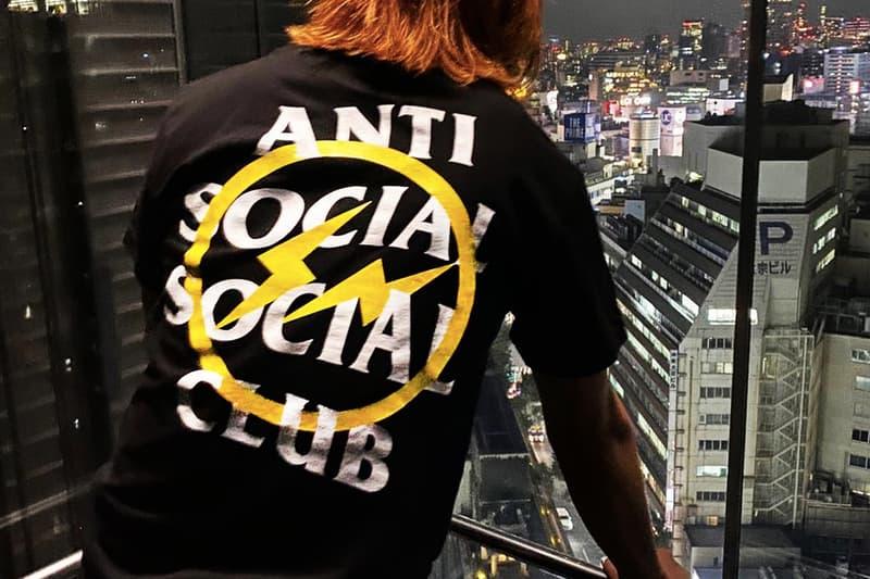 fragment design x Anti Social Social Club 聯名系列正式公開