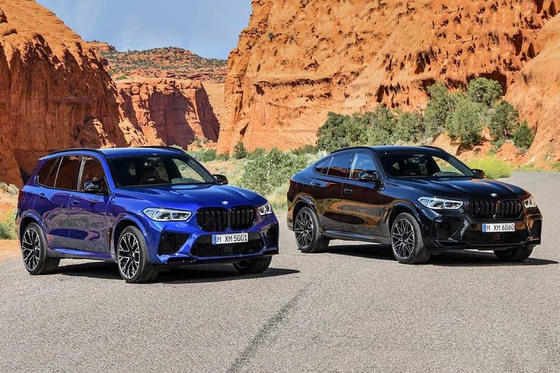 BMW 全新 2020 年 X5 M 及 X6 M 車型發佈
